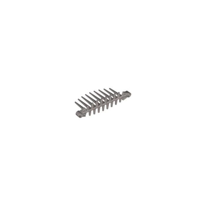 LEGO Pearl Light Gray Soft Barraki Spine 3 x 12 x 5 (59616)