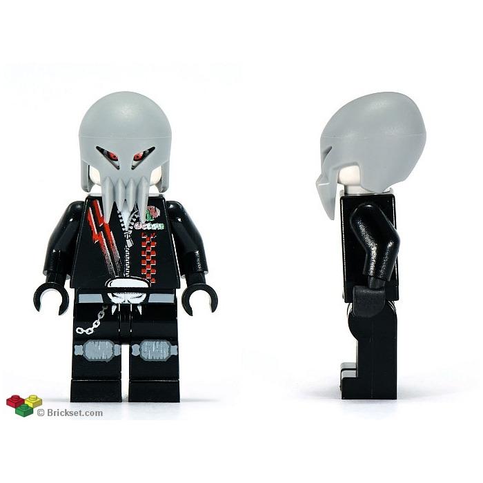Alien Skull Twin LEGO Space Police 3 MINIFIG // MINI FIGURE
