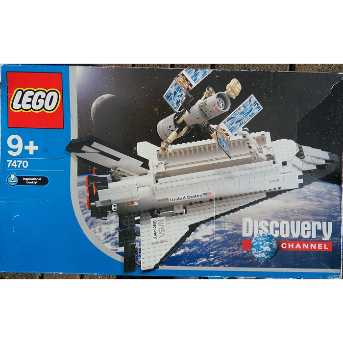 lego space shuttle discovery 7470 - photo #5
