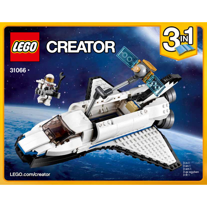 Lego Space Shuttle Explorer Set 31066 Instructions Brick Owl