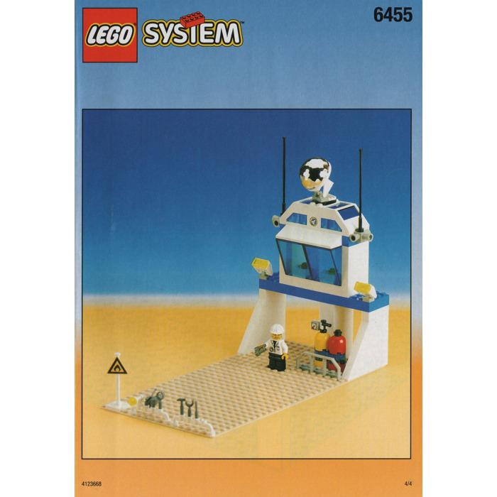 Lego Space Simulation Station Set 6455 Instructions Brick Owl