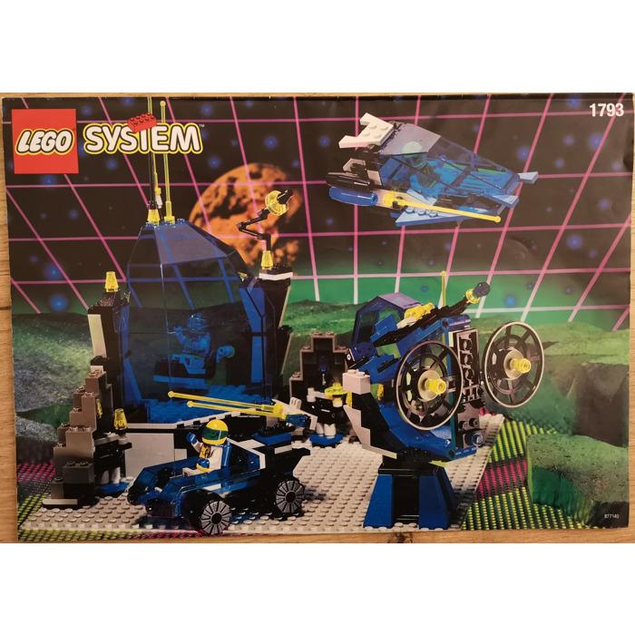 Lego Space Station Zenon Set 1793 Instructions Brick Owl Lego