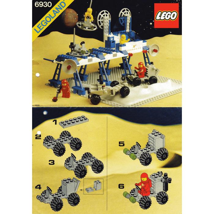 Lego Space Supply Station Set 6930 Instructions Brick Owl Lego