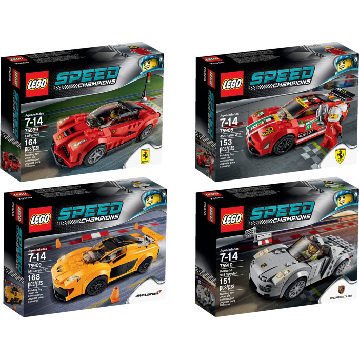 Catalog > LEGO Sets > Speed Champions > Virtual Product Collection ...