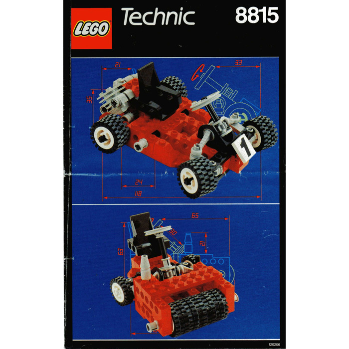 LEGO 8815 SPEEDWAY BANDIT WITH INSTRUCTIONS