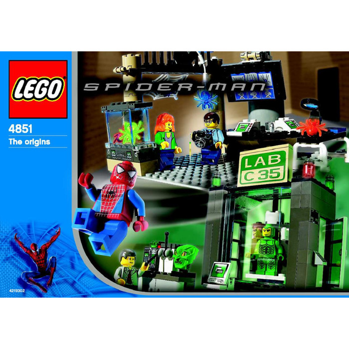 LEGO Spider-Man and Green Goblin -- The origins Set 4851 ...