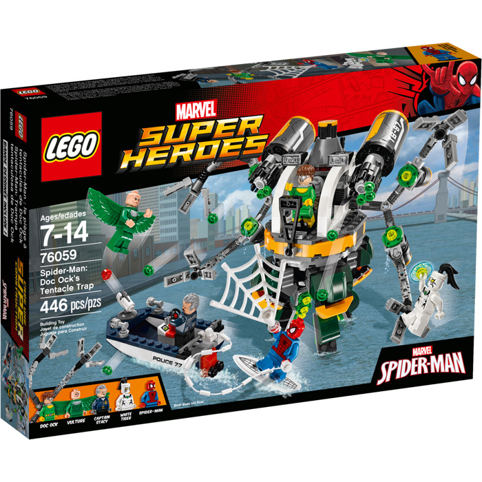 lego spiderman set instructions