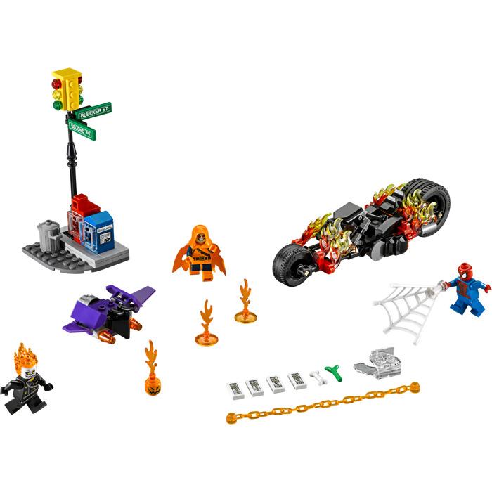 LEGO Spider Man: Ghost Rider Team Up Set 76058