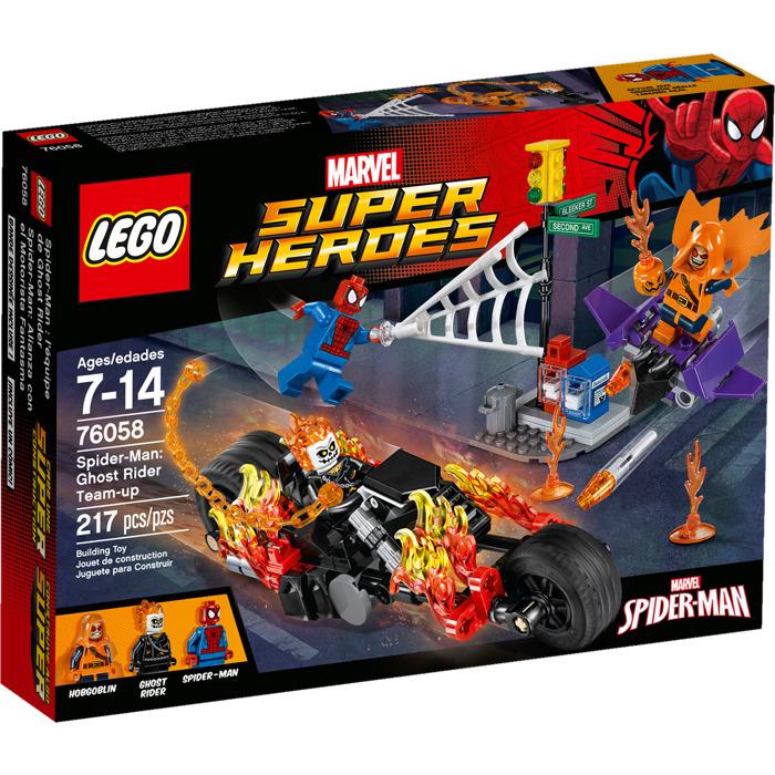 LEGO Spider-Man: Ghost Rider Team-Up Set 76058 Packaging | Brick ...