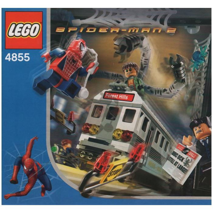 LEGO Spider-Man's Train Rescue Set 4855