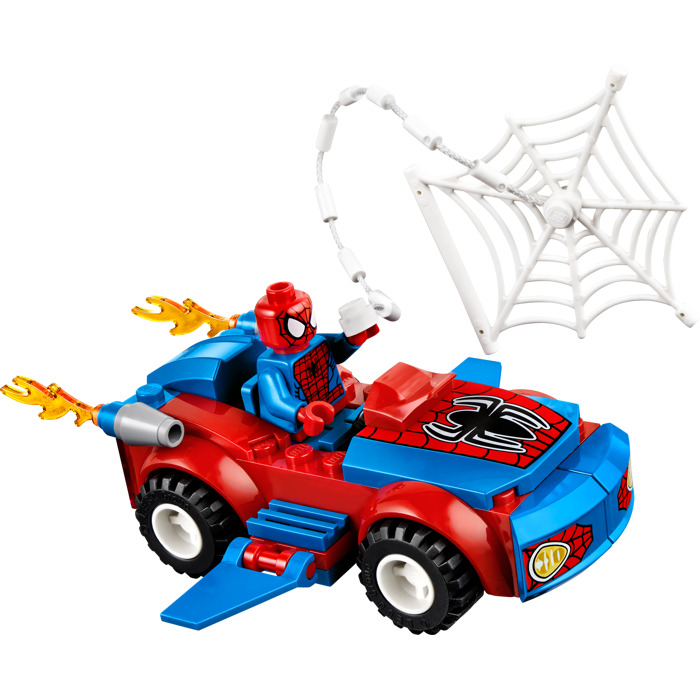Model Toys For Boys : Lego spider man car pursuit set brick owl