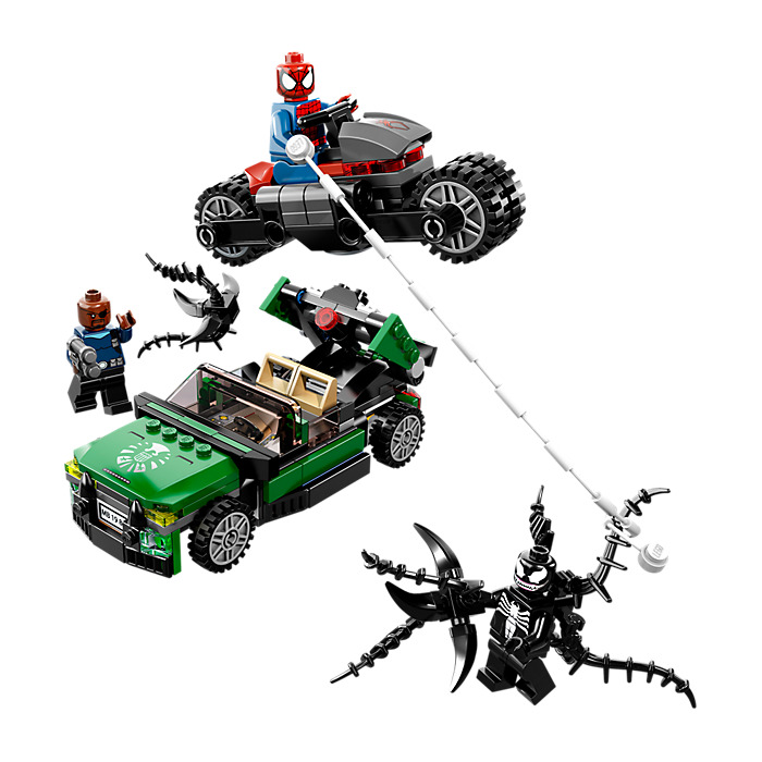 Lego spider man spider cycle chase set 76004 brick owl - Lego spiderman 3 ...