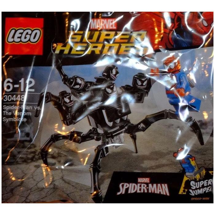 Venom Coloring Pages Lego Venom Spider Marvel Heroes: LEGO Spider-Man Vs. The Venom Symbiote Set 30448