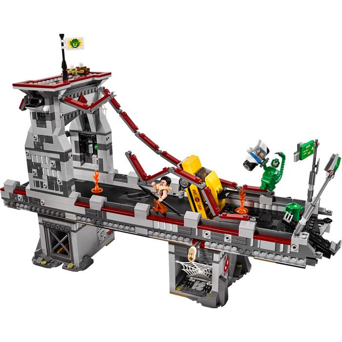 Warriors Orochi 3 Ultimate Item Box Locations: LEGO Spider-Man: Web Warriors Ultimate Bridge Battle Set
