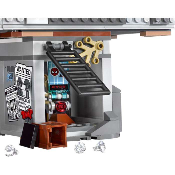 lego spider man bridge battle instructions