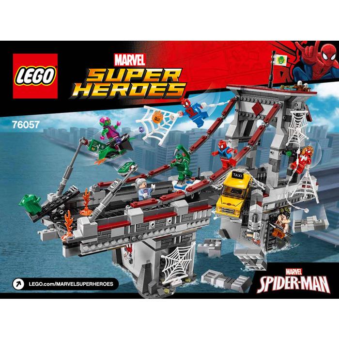 LEGO Spider-Man: Web Warriors Ultimate Bridge Battle Set ...