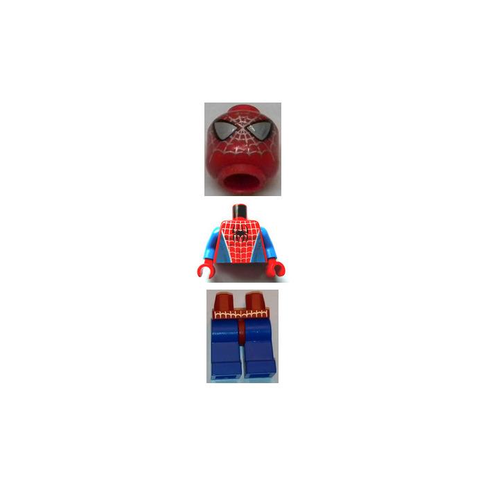 LEGO Spider-Man with Silver Eyes Minifigure | Brick Owl - LEGO ...