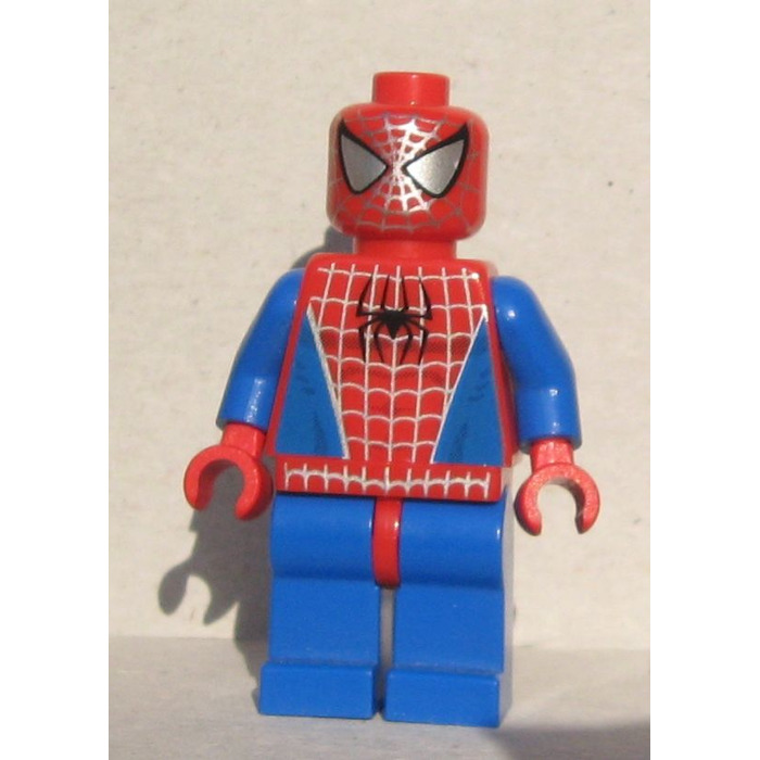 Lego Spider Man With Silver Eyes Minifigure Brick Owl