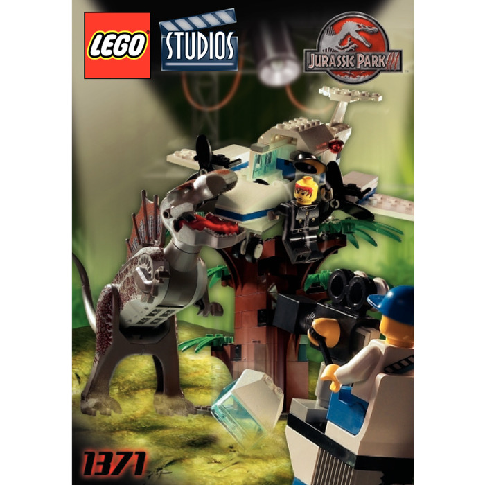 Lego spinosaurus attack set 1371 instructions brick owl - Lego spinosaurus ...