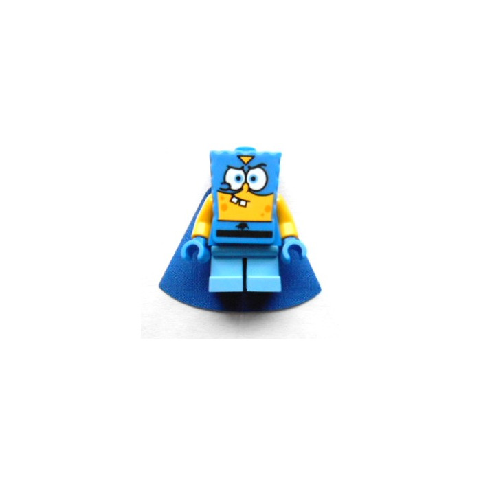 Super Hero No Cape Minifigure SpongeBob Lego SpongeBob SquarePants
