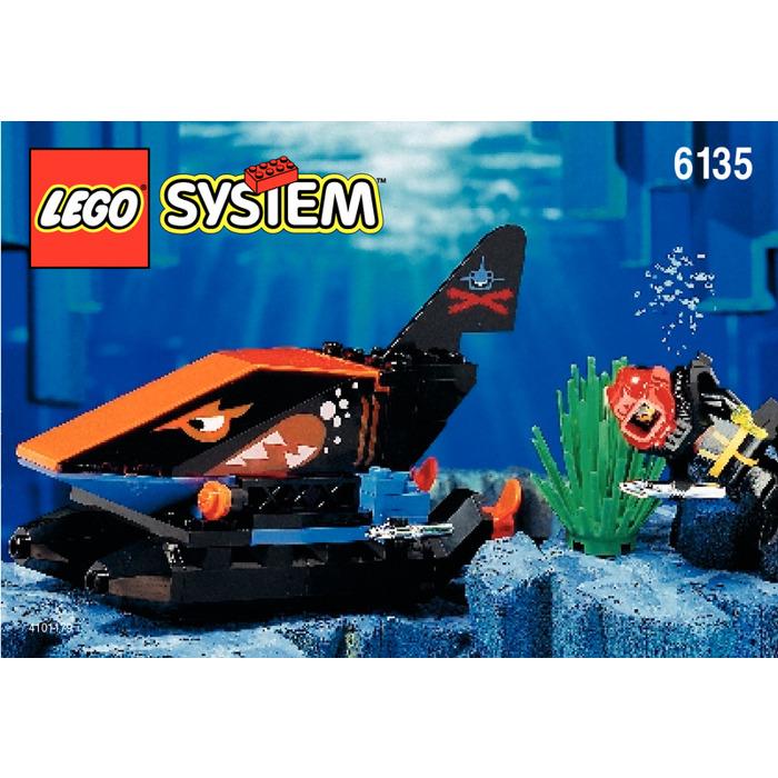 Lego Spy Shark Set 6135 Instructions Brick Owl Lego Marketplace