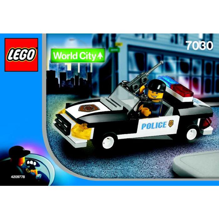 Lego Squad Car Set 7030 Instructions Brick Owl Lego Marketplace