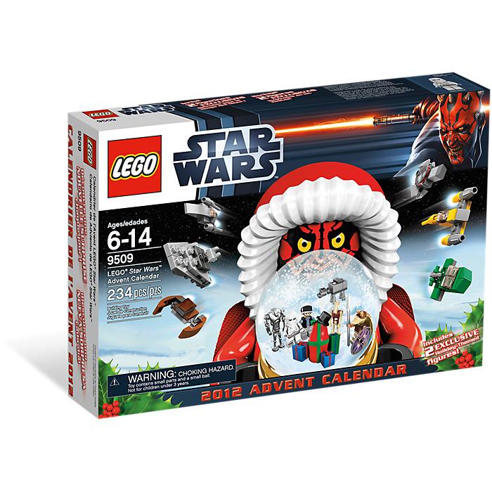 lego star wars advent calendar set 9509 brick owl lego marketplace. Black Bedroom Furniture Sets. Home Design Ideas