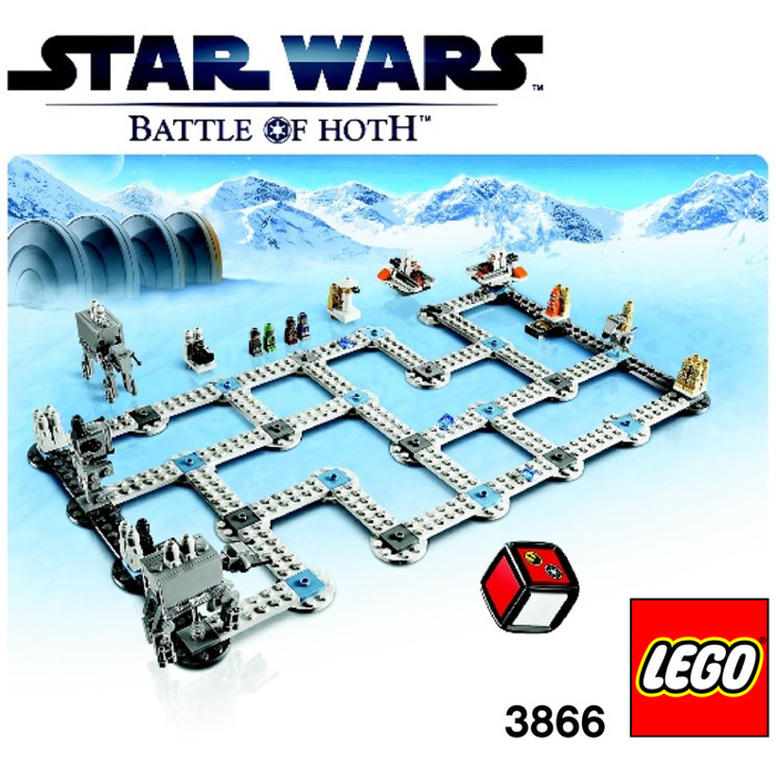 Lego Star Wars The Battle Of Hoth 3866 Instructions Brick Owl