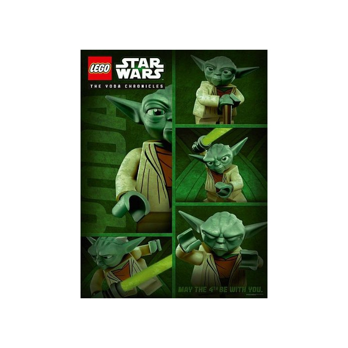 LEGO Star Wars Yoda Chronicles May The 4th Be With You