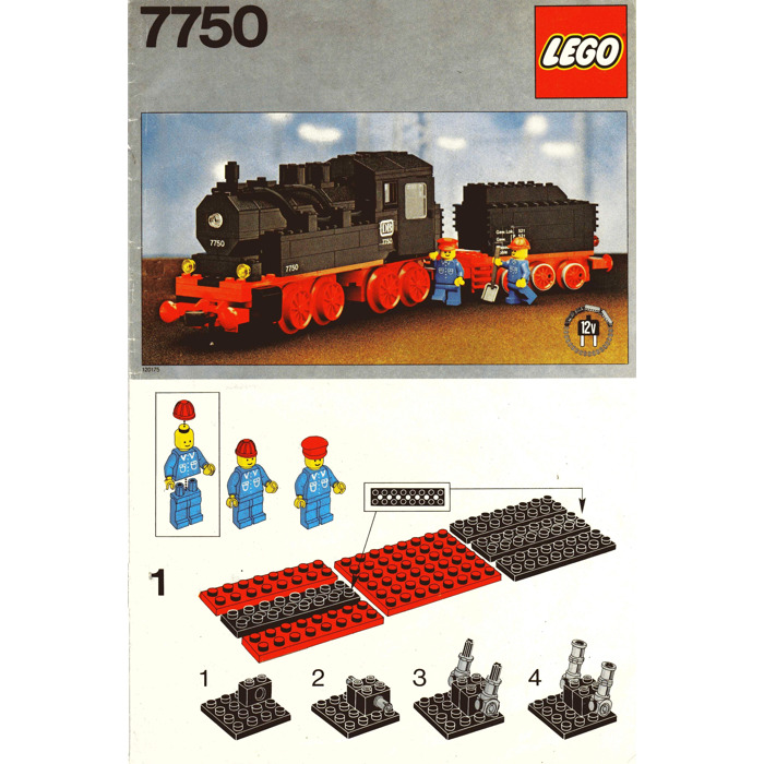Lego Steam Engine With Tender Set 7750 Instructions Brick Owl