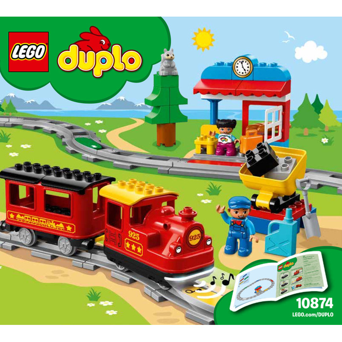 Lego Steam Train Set 10874 Instructions Brick Owl Lego Marketplace
