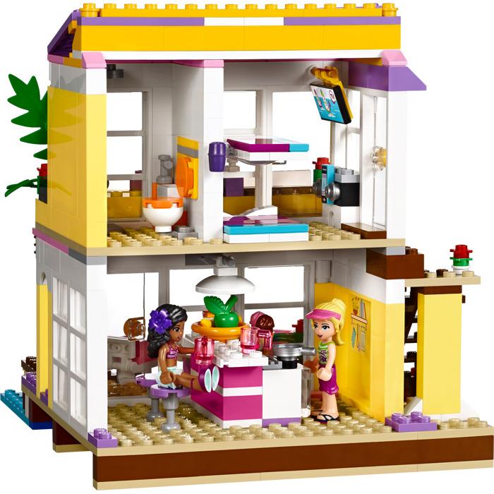 LEGO Stephanie's Beach House Set 41037 | Brick Owl - LEGO ...