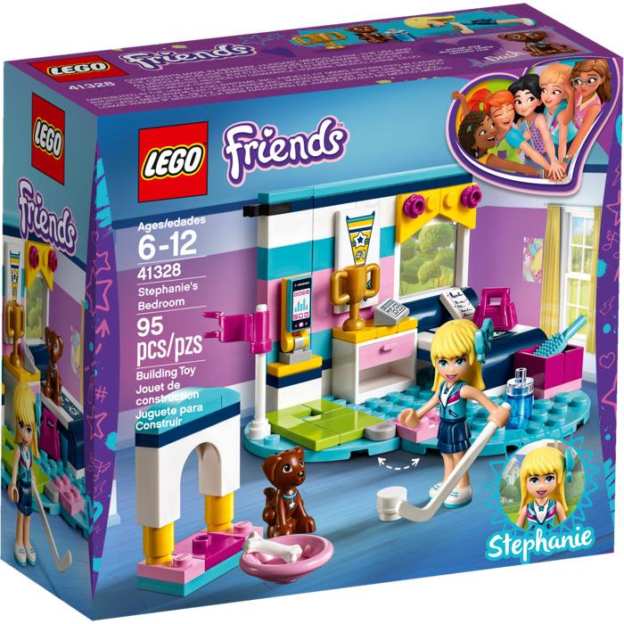 lego stephanie 39 s bedroom set 41328 brick owl lego marketplace. Black Bedroom Furniture Sets. Home Design Ideas
