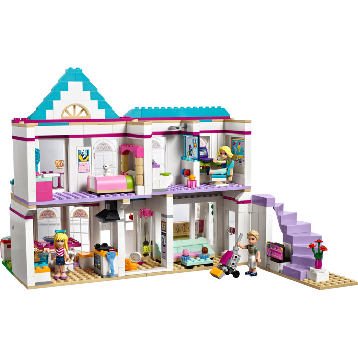 lego stephanie 39 s house set 41314 brick owl lego. Black Bedroom Furniture Sets. Home Design Ideas