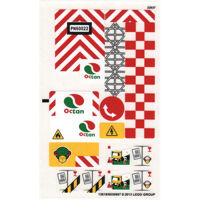 Lego Sticker For Set 60022 13618 Brick Owl Lego Marketplace