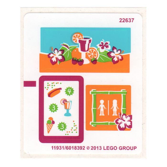 Lego Sticker Sheet For Set 41008 11931 Brick Owl Lego Marketplace