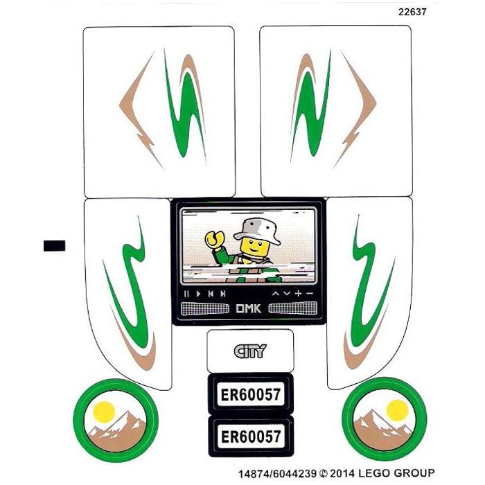 lego city 60057 instructions
