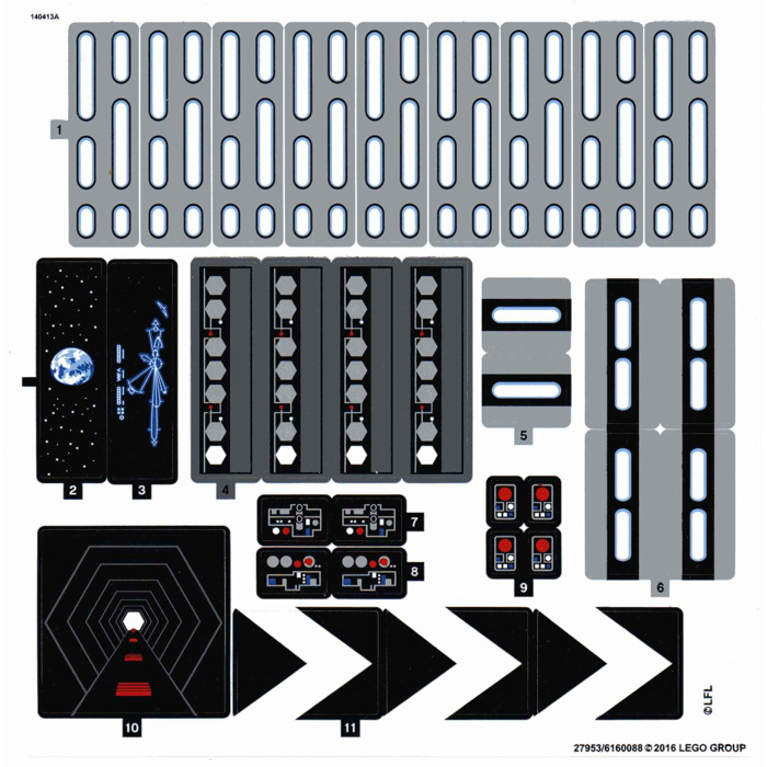 lego death star 75159 instructions