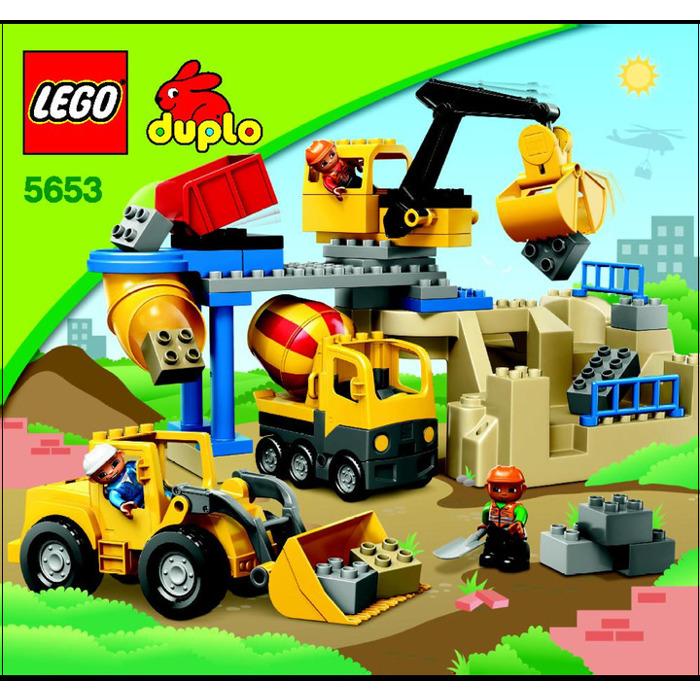 Lego Stone Quarry Set 5653 Instructions Brick Owl Lego Marketplace
