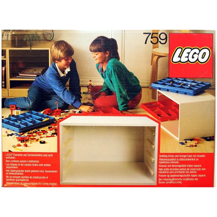 LEGO Storage Cabinet Set 759   Brick Owl - LEGO Marketplace