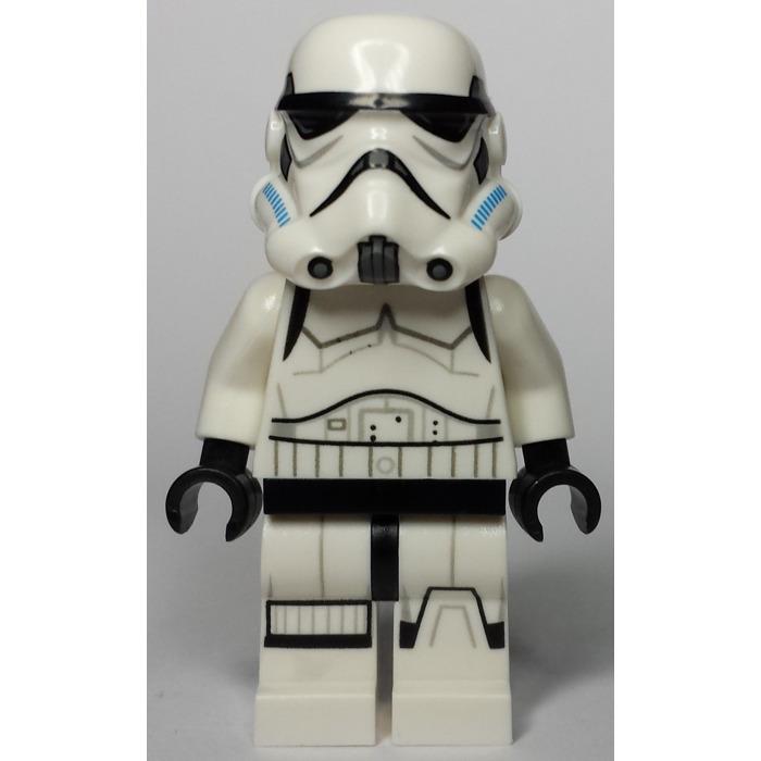 Lego Stormtrooper With Printed Legs And Dark Azure Helmet Vents 75053 Minifigure Brick Owl