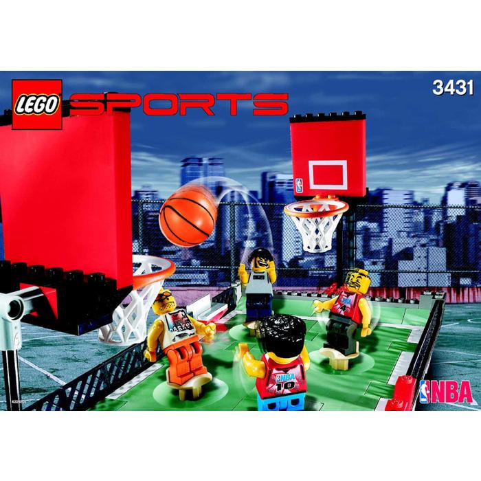 Lego Street Ball 2 Vs 2 Set 3431 Instructions Brick Owl Lego