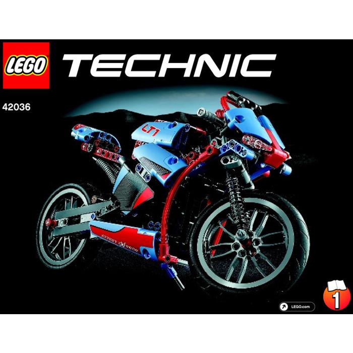 Lego Street Motorcycle Set 42036 Instructions Brick Owl Lego