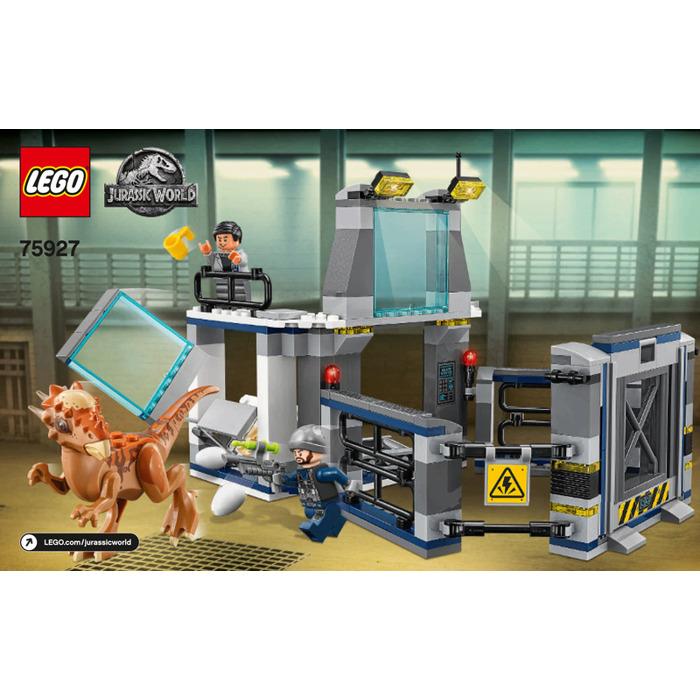 Lego Jurassic World 75927 Stygimoloch Breakout: LEGO Stygimoloch Breakout Set 75927 Instructions
