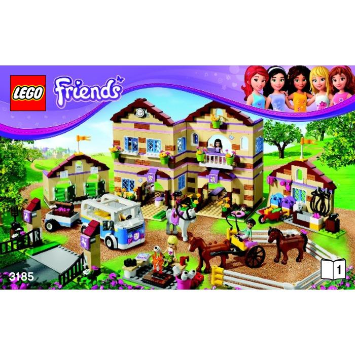 lego friends sets instructions