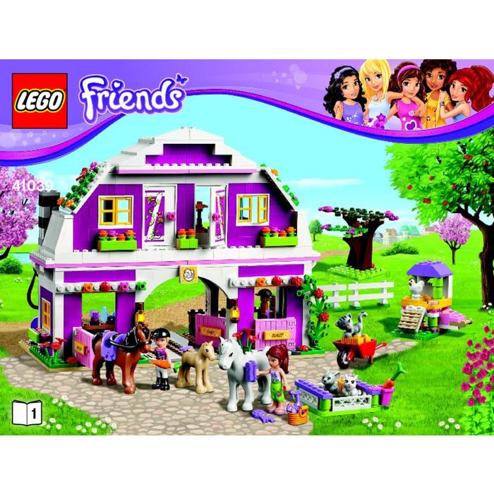 Lego Sunshine Ranch Set 41039 Instructions Brick Owl Lego
