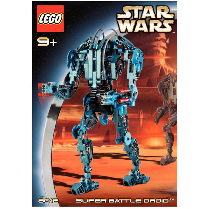 Lego Star Wars Battles 0 30 Apk: LEGO Super Battle Droid Set 8012 Instructions