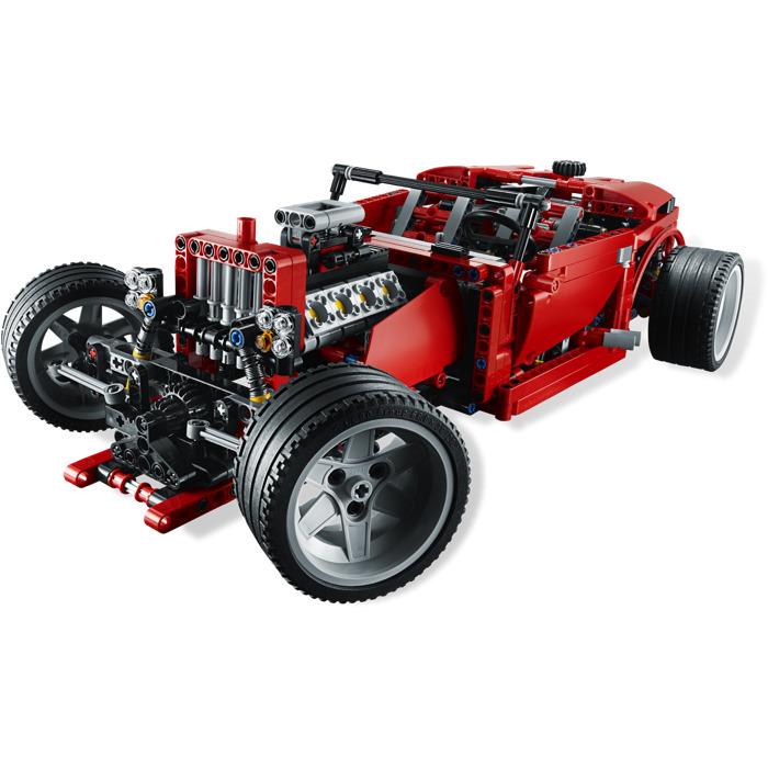 lego super car set 8070 brick owl lego marketplace. Black Bedroom Furniture Sets. Home Design Ideas