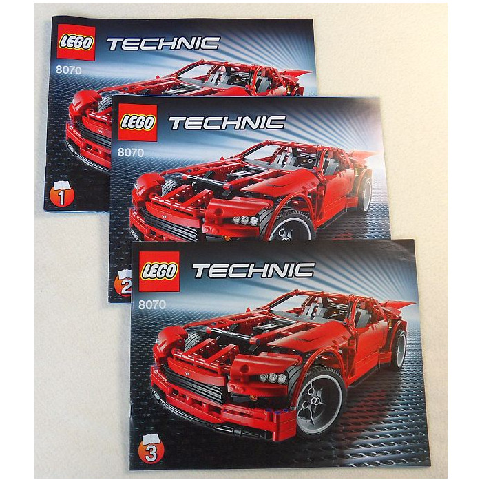 Lego Super Car Set 8070 Instructions Brick Owl Lego Marketplace