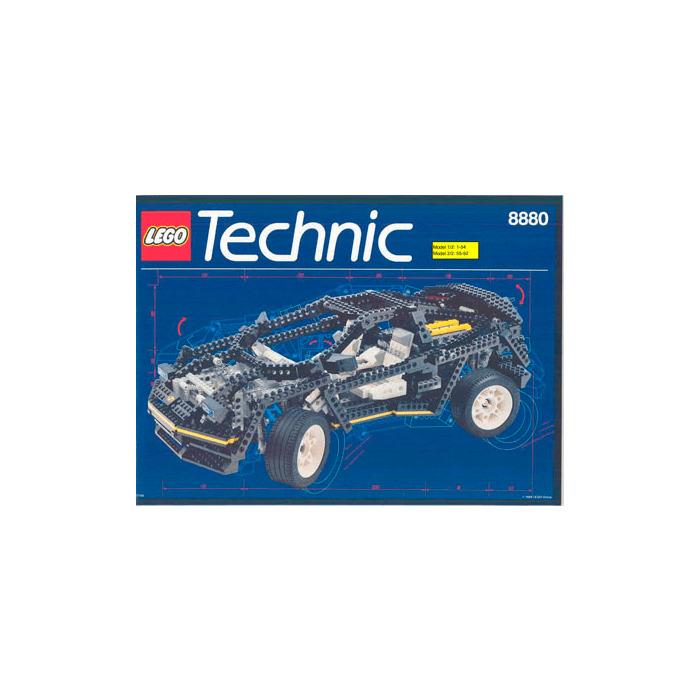 Lego Super Car Set 8880 Instructions Brick Owl Lego Marketplace